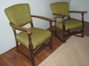 1940's Matching Rocker and Chair Windsor Region Ontario image 2