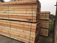 🌳Wooden Scaffold Style Boards/Planks - 225mm X 38mm X 12Ft/14Ft -New-🌲