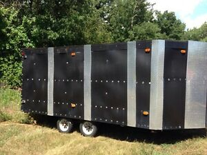 14ft. Enclosed Trailer-   Home made Peterborough Peterborough Area image 2
