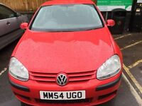 Vw golf 5 2005 1.9 TDI