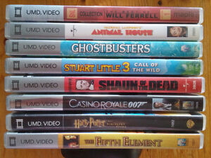 8 UMD Movies for PSP
