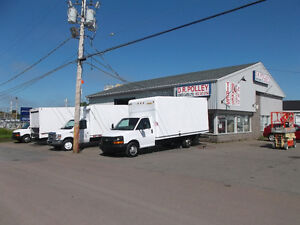 CUBE VANS 2013'S AND 14'S FOR SALE READY NOW AMHERST NS