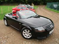 2004 AUDI TT ROADSTER * RED LEATHER * CONVERTIBLE PETROL