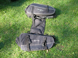 Snowmobile saddlebags