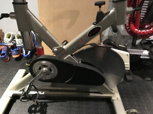 Mileage formula one commercial spin bike
