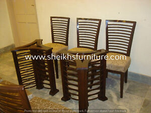 sdvxcaa Wooden carved dining pillars and dining chairs aasvdfhn