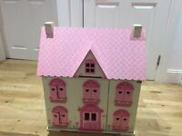 EARLY LEARNING CENTRE Rosebud cottage dolls house