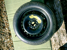 Volvo pirelli temporary use spare wheel