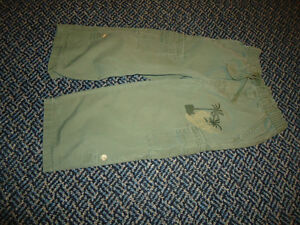 Boys Size 2 lightweight Army Green pants by Old Navy
