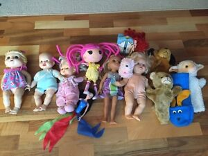 Baby alive doll/lalaloopsy/puppets