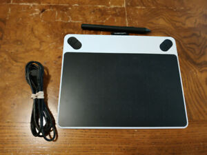 Wacom Intuos - Drawing Tablet - White (CTL490DW)