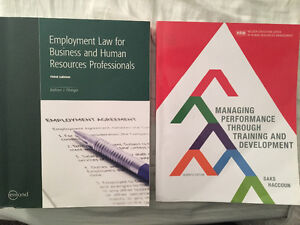 Employment Law & Training and Development Textbooks FANSHAWE
