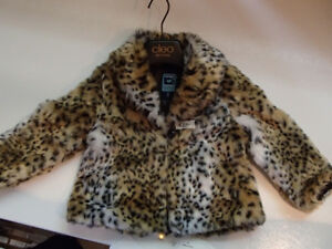 3T Sassy Faux fur Coat