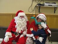 MR. & MRS. SANTA CLAUS - ; Have sled , will travel ;
