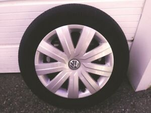 VW 2017 Jetta Tires Rims and wheel covers
