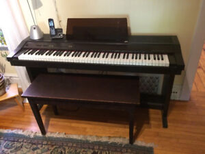 Rolland 3000 Digital Piano with Bench
