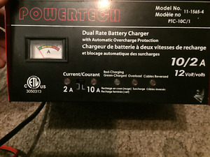 Powertech Car Battery Charger (10A/2A) Fast/Trickle Charge