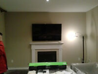 TV installation led lcd plasma sound system installation $50.05