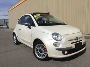 2012 FIAT 500C LOUNGE ***AUTOMATIQUE**CUIR