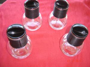 Clear Glass Tea Pot & Lid - 8 oz. Individual Size - $5.00 each
