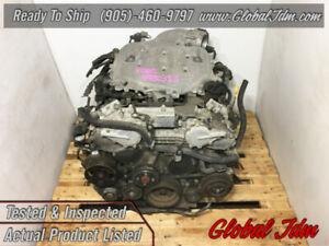 JDM Nissan 350z VQ35DE 3.5L / Infiniti G35 03-04 RWD V6 Engine