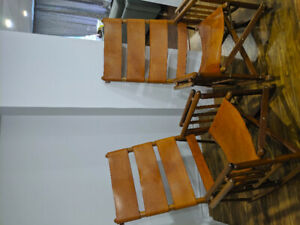 Costa Rican rocking chairs