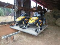 Great Deal for two hot Snowmobiles at $ 2750 each