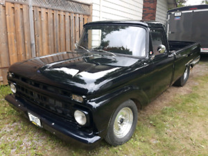 65 Ford f100 street/ strip trade for 60's chevelle