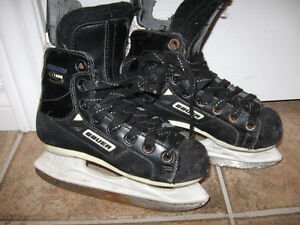 Youth Size Bauer Skates-Good condition + new pair of socks+ more
