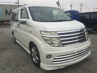 NISSAN ELGRAND RIDER AUTECH 3.5 V6 PETROL AUTO 2003,LEATHER SEATS,4 WHEEL DRIVE