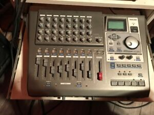 To start up your own home studio : Tascam DP-01FX Recorder