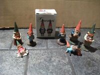"COLLECTIBLE  ""KLAUS WICKL"" GNOMES"