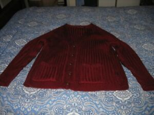Men's Highest Quality 100 % Wool Cardigan Sweater