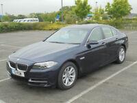2014 14 BMW 528i SE 2.0 AUTO 245bhp PETROL 4 DOOR SALOON METALLIC BLUE 5 SERIES