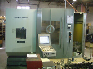 5 AXIS CNC MACHINING CENTER TWIN PALLET DMC 60T DECKEL MAHO