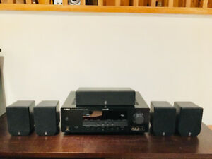 Yamaha YHT-290 5.1 home theatre with stands