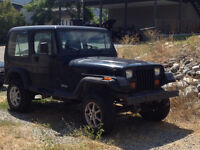 BONAIRE TENT TRAILER AND JEEP YJ PACKAGE DEAL