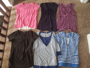 Size medium to large Maternity clothes huge lot