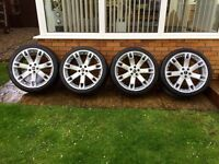 """Range Rover Overfinch 22"""" Alloys with As New Tyres"""