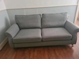 Next 3 seater sofa in Grey