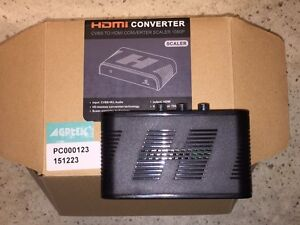 Scaler HDMI Converter - CVBS to HDMI