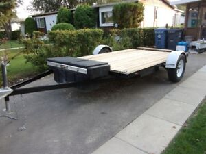 2018  Flat Deck Utility Trailer. Price reduced again!