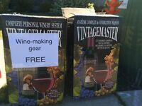Wine making gear - FREE, today only!