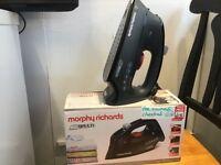 Morphy Richards black Electric iron