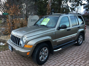 2007 Jeep Liberty Limited Edition SUV, Crossover