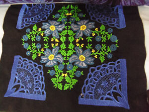 Embroidered Queen size Quilt