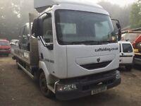 Renault midlum truck 2001 51 150 Bhp spares or repairs £1500