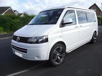 2014, VOLKSWAGEN T5 TRANSPORTER CAMPER VAN, 4 BERTH, POP TOP, 15,300 MILES