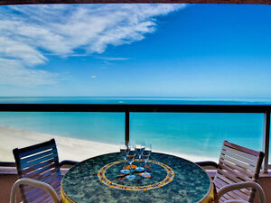 Clearwater Crescent Beach Club 14B Beachfront Condo