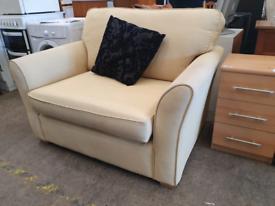 Lime cuddle chair £95